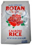 Extra Fancy Botan Calrose Rice 50 LB