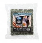 Kosher Roasted Sushi Nori Silver -100 Half Cut Sheet