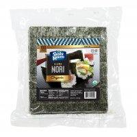 Kosher Roasted Sushi Nori Gold -10 packages x100 Half Cut Sheets