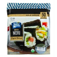Kosher Roasted Sushi Nori Gold -50 Full Size Sheets