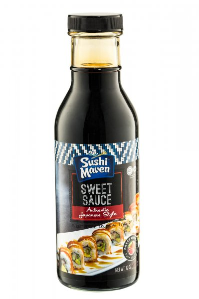 Sushi Maven Sweet Sauce 12oz - Click Image to Close