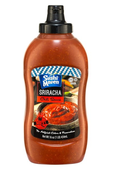 Sushi Maven Sriracha Chili Sauce 16oz. - Click Image to Close