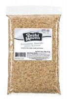 White Roasted Sesame Seeds 1 lb.